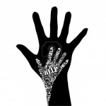 7133584-conceptual-black-and-white-illustration--hand-of-help